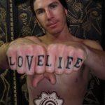 letter tattoo - suku suku tatau