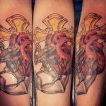 modern anchor tattoo - suku suku tatau