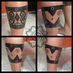 Borneo Style Tattoo