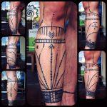 mentawai tattoo, hand poking