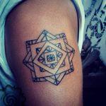 symbol tattoo by suku suku tatau