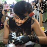 hand poking by duku duku tattoo