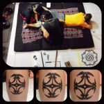 traditional tattoo, hand tapping, bali tattoo