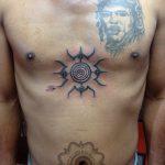 Symbol tattoo, hand poking, suku suku tattoo