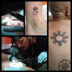 traditional tattoo, hand tapping, bali tattoo