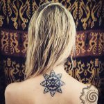 symbol tattoo, hand poking by suku suku tattoo