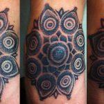 flower tribal tattoo, suku suku tatau