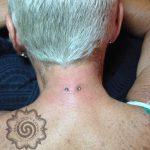 pocketing piercing - neck piercing - suku suku tatau