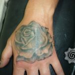 rose tattoo - suku suku tattoo