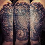 owl tribal tattoo - suku suku tatau