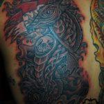 dragon tattoo - modern tattoo - suku suku tatau