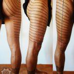 mentawai tattoo, traditional Tattoo by suku suku tatau
