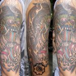 traditional bali tattoo, suku suku tatau